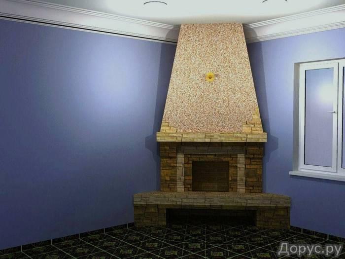 Кладка каминов - Строительные услуги - Камины встроенные в стену,пристроенные к стенке,отдельно стоя..., фото 1