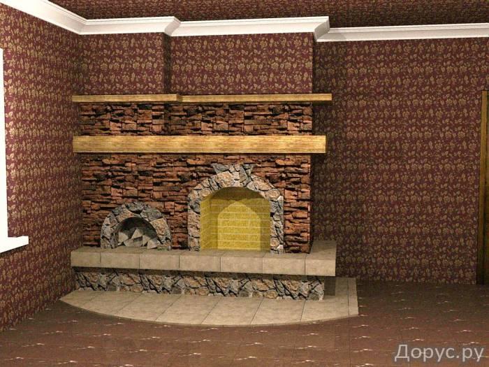 Кладка каминов - Строительные услуги - Камины встроенные в стену,пристроенные к стенке,отдельно стоя..., фото 3