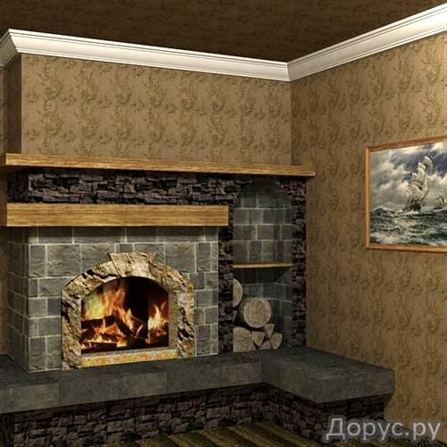 Кладка каминов - Строительные услуги - Камины встроенные в стену,пристроенные к стенке,отдельно стоя..., фото 4