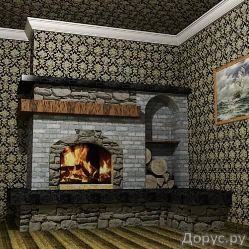 Кладка каминов - Строительные услуги - Камины встроенные в стену,пристроенные к стенке,отдельно стоя..., фото 5