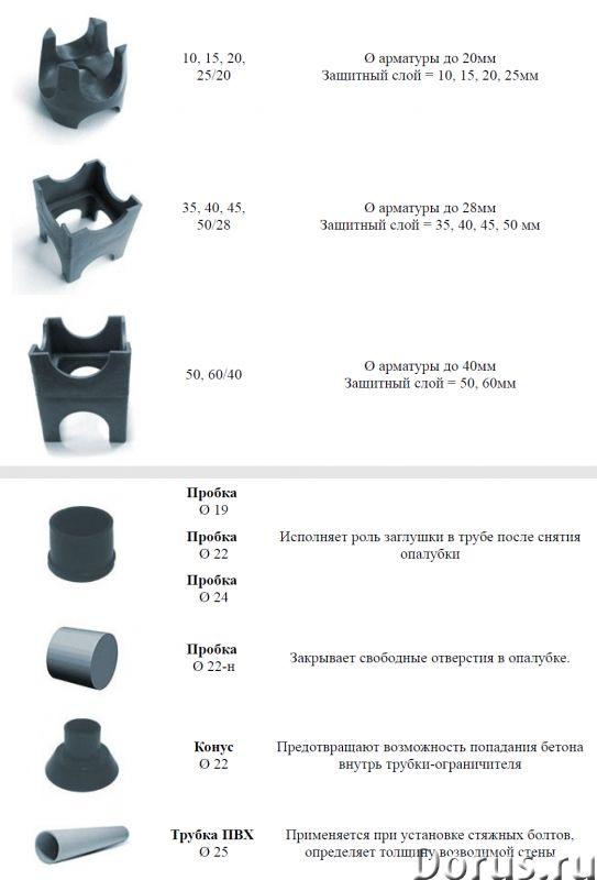 Фиксаторы для арматуры Пластиковые закладные - Материалы для строительства - Продаю фиксаторы для ар..., фото 5